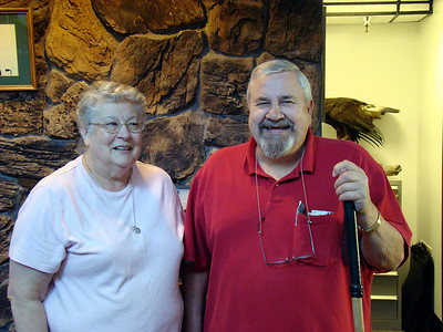 Dr. James Scott, DVM and his wife Carol. Dr. Scott founded Bird TLC in 1988.