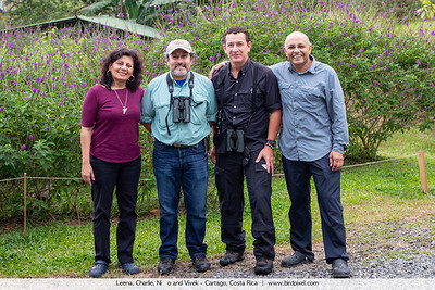 Leena, Charlie, Niño and Vivek - Cartago, Costa Rica