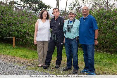 Bharati, Charlie, Niño and Sanjay - Cartago, Costa Rica