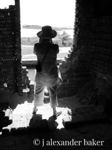 Silhouette,Fort Jefferson