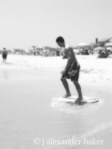 The new skimboard, Jersey Shore