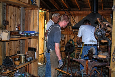 Foresthill Museum Blacksmith shop