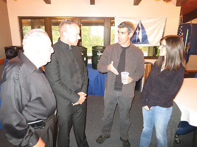 On right, USAFA Prof Steve Samuels and his wife, Dena.
