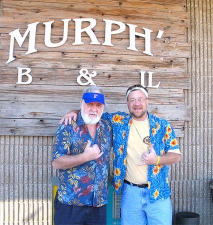 Bob and Joe at Murph's