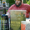"""""""Boston Beer: A History of Brewing in the Hub"""", a new book by Leominster resident Norman Miller. SENTINEL & ENTERPRISE / Ashley Green"""