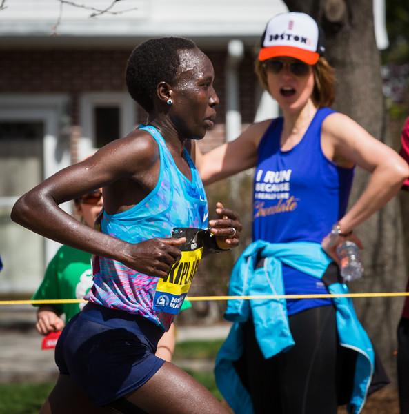 Women's Race Leader