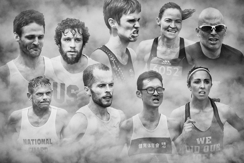 Faces of Runners