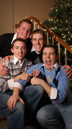Boys of Winter - Christmas Card BYU 2010