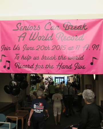 Breaking the Hand Jive World Record, 6/20/15