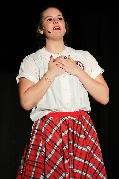 Drama Queen!<br /> <br /> Kelly Werther as JoJo in the Lakehill School<br /> production of Brenda Bly - Teen Detective