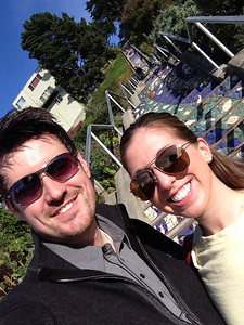 Brian and Katie in San Francisco, September 2013.