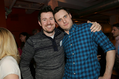 Brian and Paul at the aQuantive Reunion party, January 2014