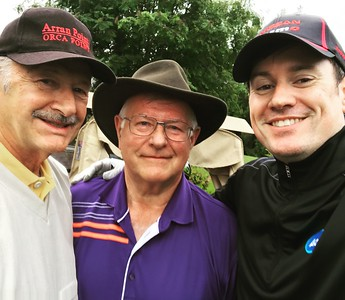 Golf with Dad and Uncle Herb, June 2017