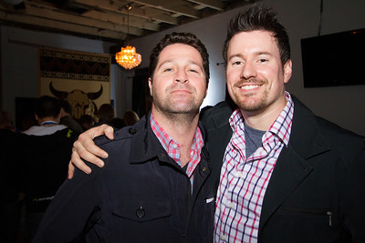 Michael and Brian at an AOL SXSW event, Austin TX, March 2014