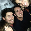 Danielle, Brian, Piotr and Jordan in the photo booth at Cha Cha, Seattle.