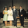 Maid of Honor Virginia Albertoni, Bride Shirley Nimegeers, Groom Brian Hall, Best Man Bill Hall