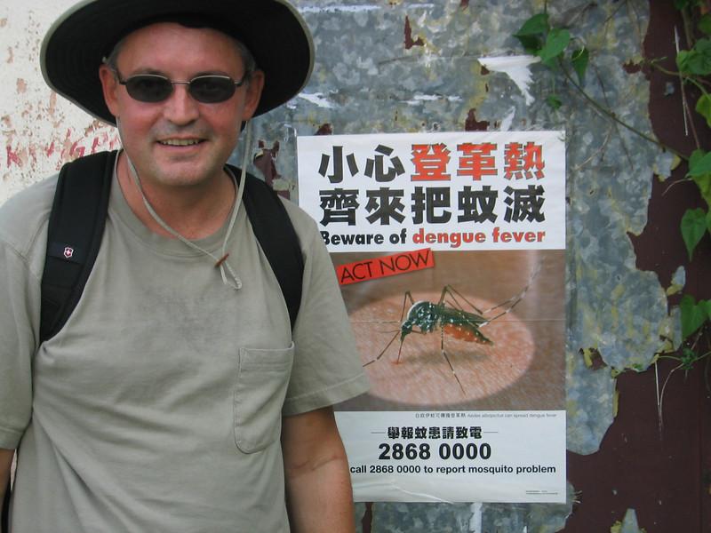 Damn Misquitos. Lamma Island, Hong Kong