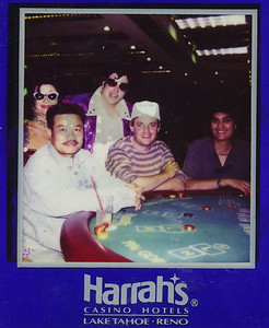 At the tables in Reno with friends Elvis, Alonzo and JBM