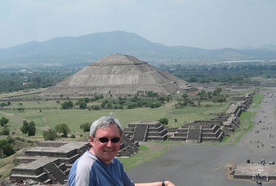 Pyramids Sun and Moon, Mexico City 2006