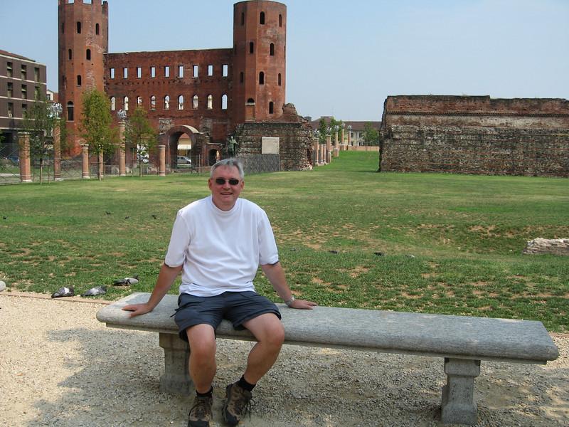 Roman Gate, Turino, Italy