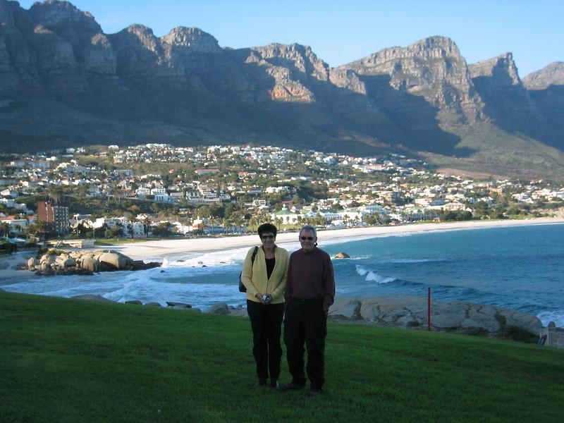 Cold breeze in Capetown, SA