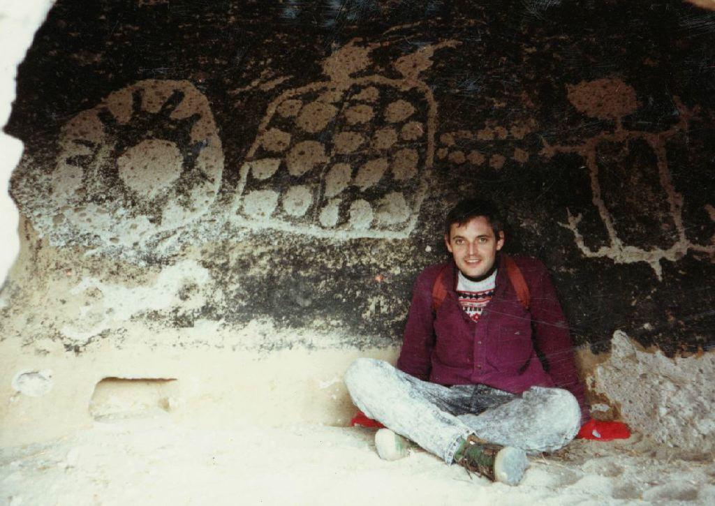 rare petroglyphs in Mortandad, New Mexico