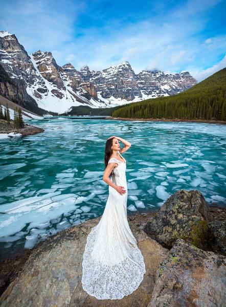 """""""The Bride of Moraine Lake"""""""
