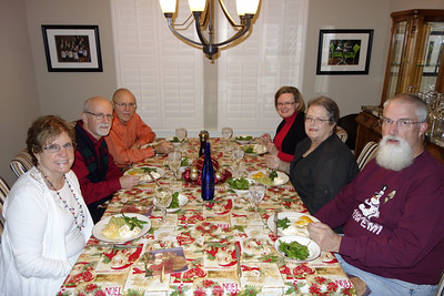 Bridgeland Bible Study Group Christmas Dinner