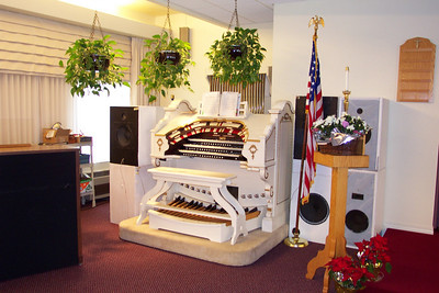 Organ at Mt  Angel
