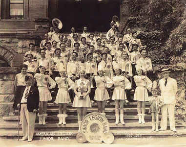 Silverton American Legion Junior Band 1938-39