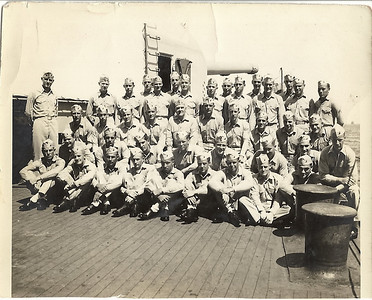 marine detachment on board the Pensacola