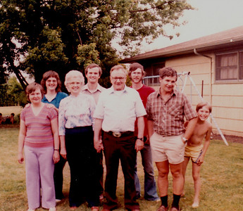 B and H Down Family Early 80s Salem