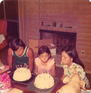 1973-06-30 Joyce, Kathie & Joe's birthday