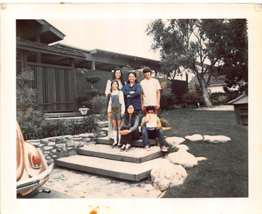 1972 Bustillos- in front of the MV house
