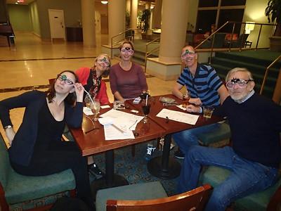 L-R: Lori Willard, Teresa Henry, Tiffany O'Meara, Paul Chyc & Bev Robinson.