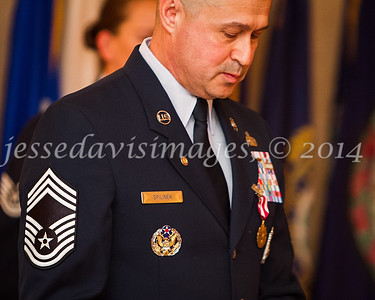 CMSgt Brad Spilinek's Retirement Ceremony, 30 May 2014