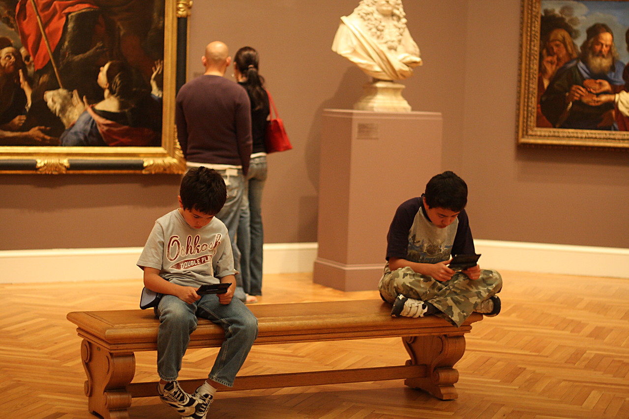 How to enjoy a museum if you're a kid! Los Angeles Museum of Art