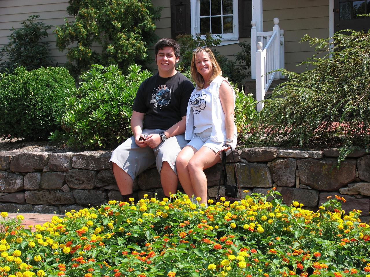 Gina and Jason Martinez in Lambertville, New Jersey - August 2005