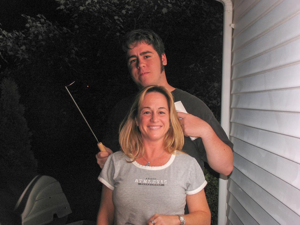 Gina and Jason Martinez - August 2005