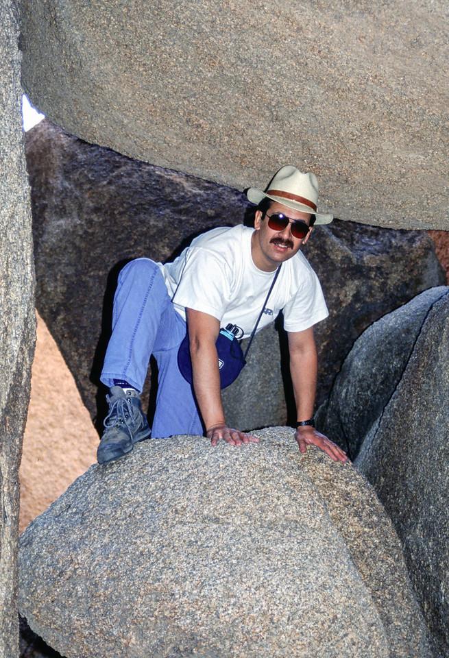Louis Van Tilborg - Mojave Desert - 1991