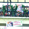 WALK WITH FAITH. Devotees waited for Tuesday's motorcade carrying the image of Blessed<br /> Pedro Calungsod on the skywalk along M.J Cuenco Ave. (Sun.Star Photo/Arni Aclao)