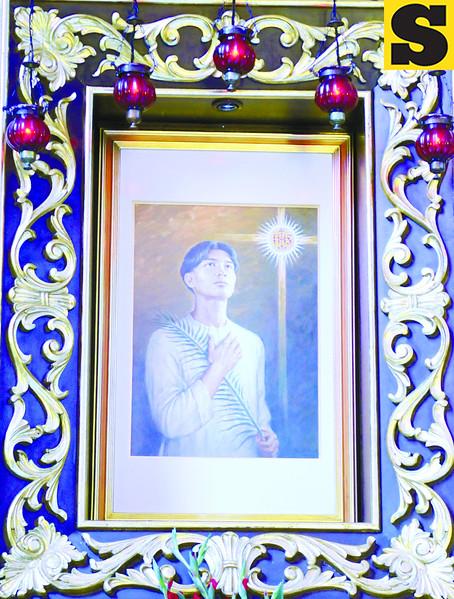 Portrait of Pedro Calungsod (Sun.Star Photo)