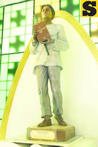 Pedro Calungsod statue. (Sun.Star Photo)