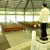 WAITING FOR HIS FLOCK. A chapel in Cantabaco, Lutopan, Toledo City is named after future Cebuano saint Pedro Calungsod. A life-size image stands at the altar of the chapel. (Sun.Star Photo/Alex Badayos)