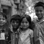 Children at Angkor Wat - 2003