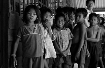School near Trapeang Prasat - 2002