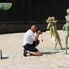 At the Miami Beach Holocaust Memorial