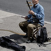 Street musiciand at Yonge and Dundas - Toronto