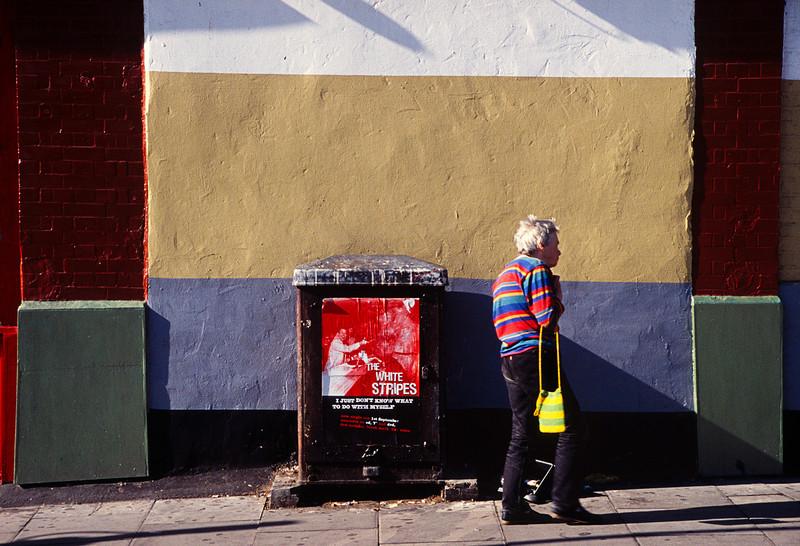 White Stripes, Coloured Hoops<br /> Islington, London