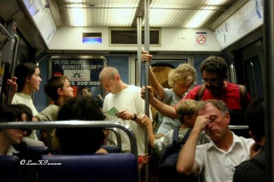 Paris Metro - Subway - France 2005